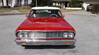 """Speck Classic Cars"" presents a 1964 Chevelle Malibu SS walk around & start!"