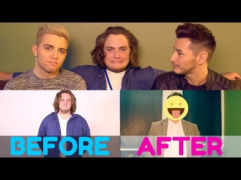 STRAIGHT BROTHER GETS MAKEOVER BY GAY BROTHERS!