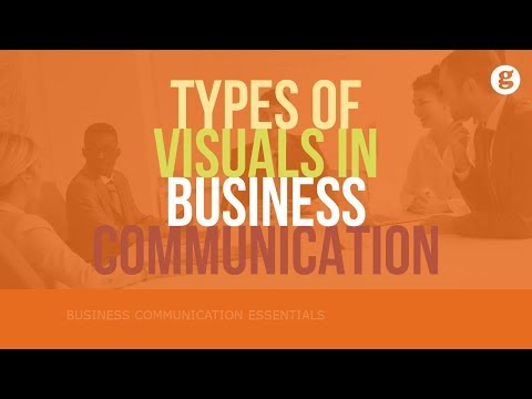 Types Of Visuals In Business Communication