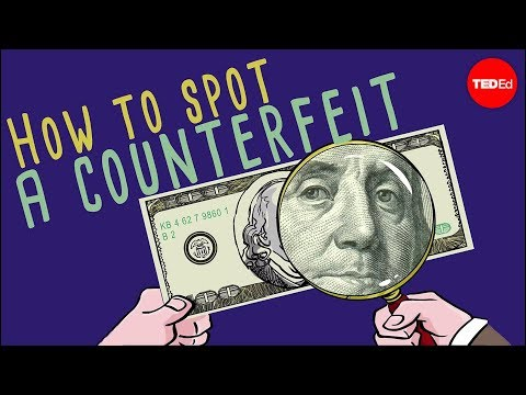 Video image: How to spot a counterfeit bill - Tien Nguyen