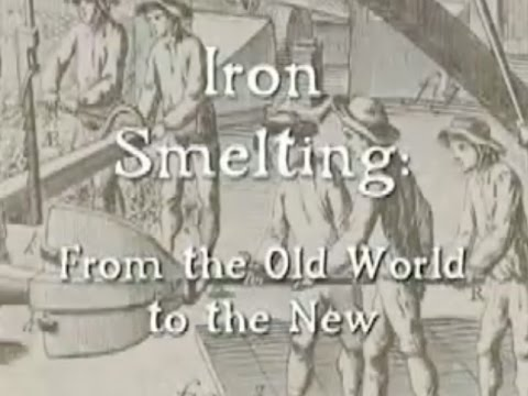 Iron Smelting: from the old world to the new