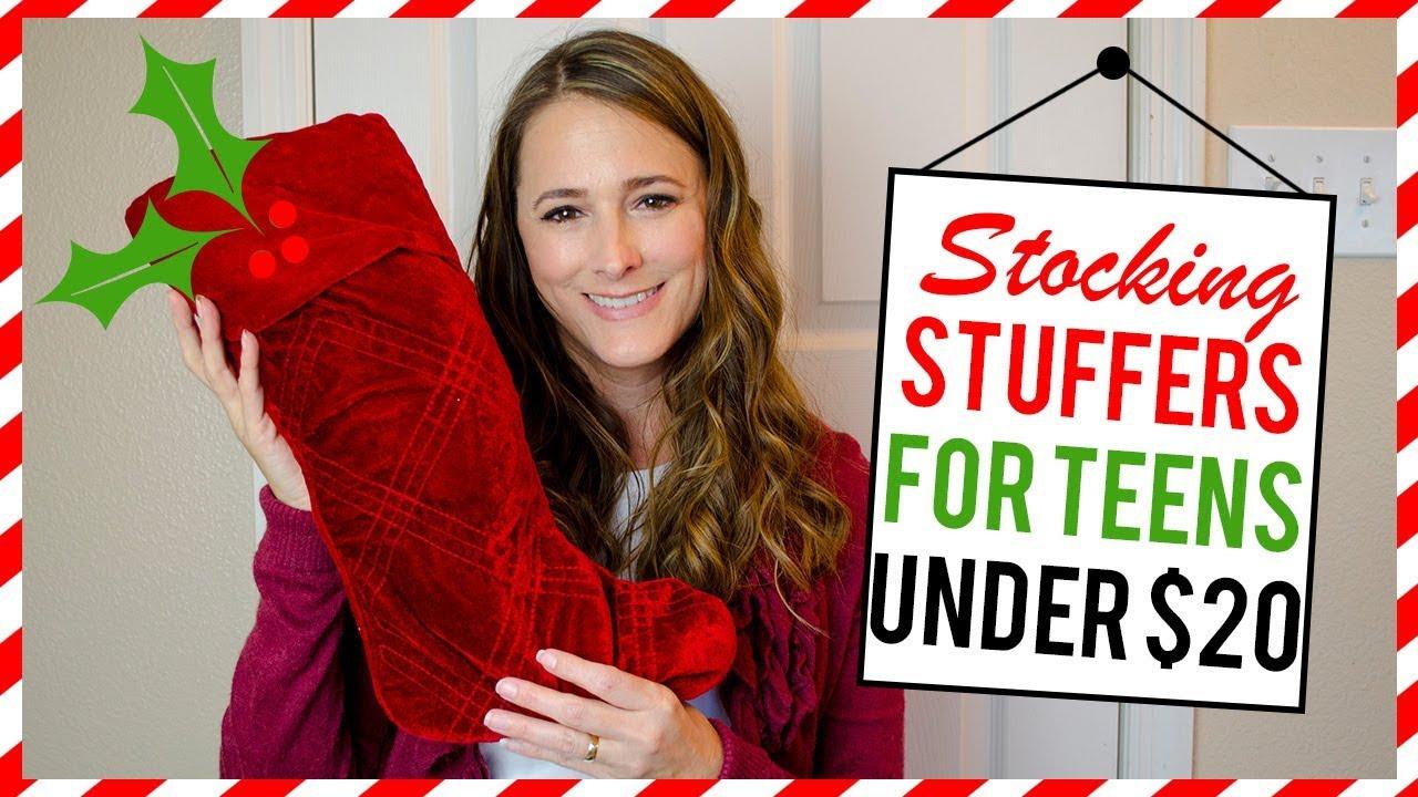 Stocking Stuffers For Teen Girls Under 20 Youtube