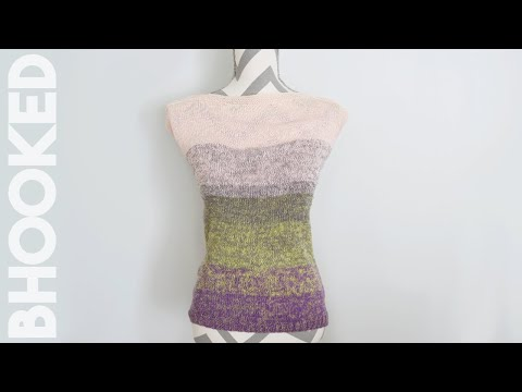 Easy Knit Top Pattern - Tutorial for Beginners