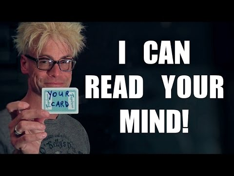 Mind Reading MAGIC TRICK!!!