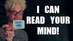 Mind Reading MAGIC TRICK!!!
