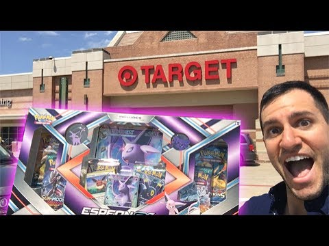 ABSOLUTELY INCREDIBLE! - THIS POKEMON OPENING FROM TARGET WAS MAGIC!