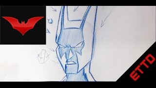 How to Draw Batman Beyond - Easy things To Draw