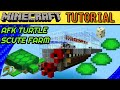 AFK Turtle Scute Farm | Minecraft Tutorial