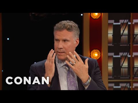 """""""Parent Trap"""" Made Will Ferrell Cry On A Plane  - CONAN on TBS"""