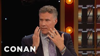 'Parent Trap' Made Will Ferrell Cry On A Plane  - CONAN on TBS