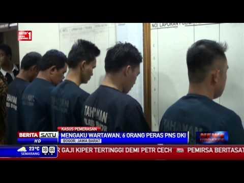 Polres Bogor Tangkap Enam Wartawan Gadungan Pemeras PNS
