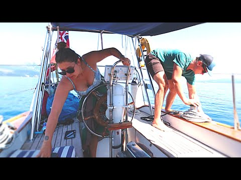 72] LIFE ON A SMALL SAILBOAT: Sail, Fish, Swim, Work, Sleep & Repeat | A HOT Summer's Week