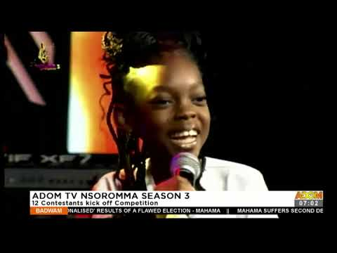 Adom TV Nsoromma Season 3: 12 Contestants kick off Competition - Badwam Ahosepe (14-12-20)