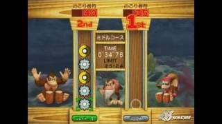 Donkey Konga 2 GameCube Gameplay - Battle mini game