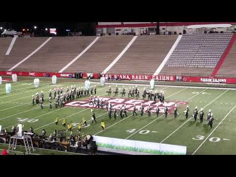 Acadiana High School Marching Band - Oct. 22, 2018