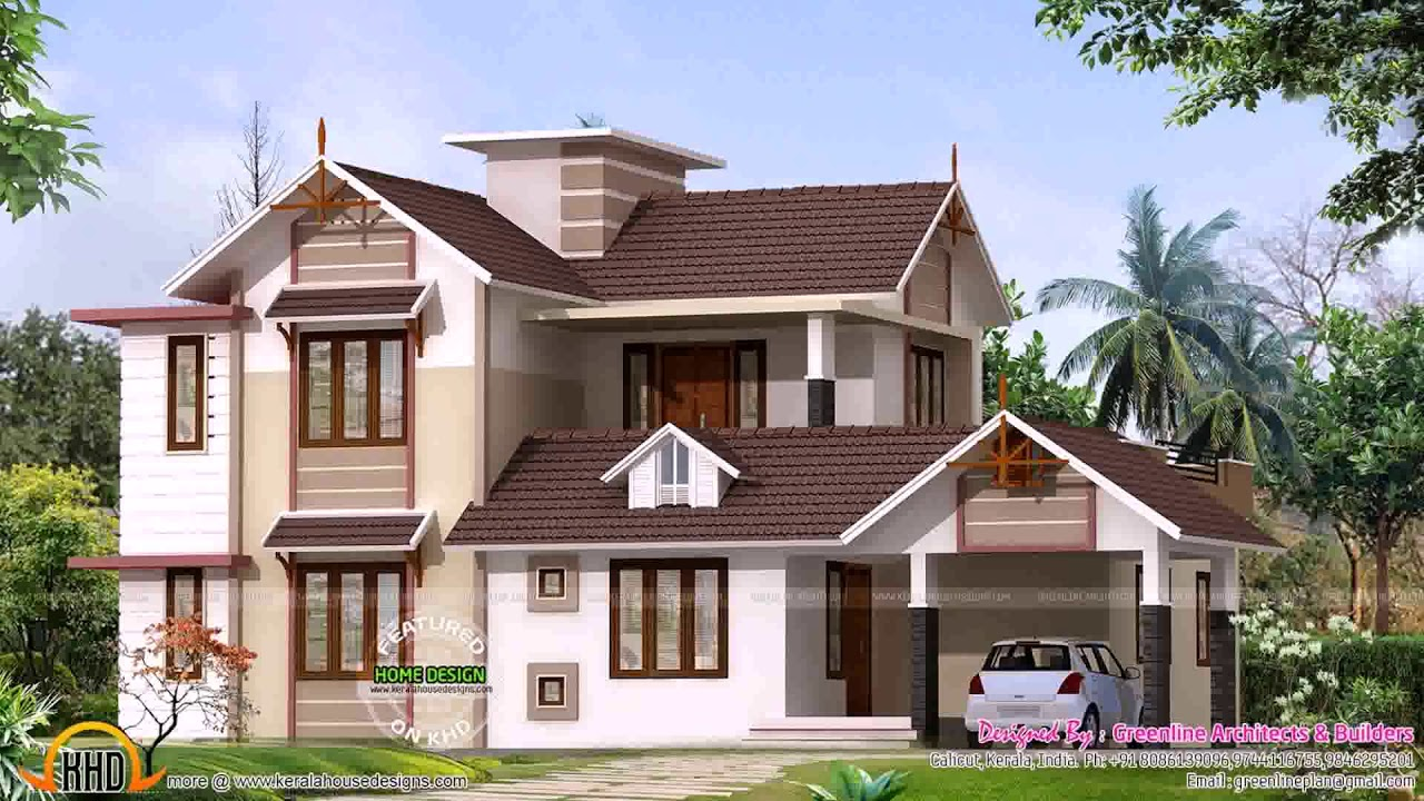 8 Lakhs House Plans In Kerala - YouTube