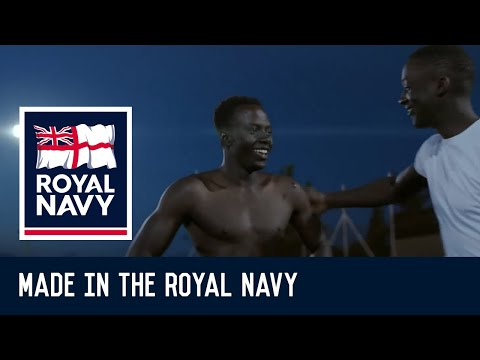 Made in the Royal Navy - Modou's Story