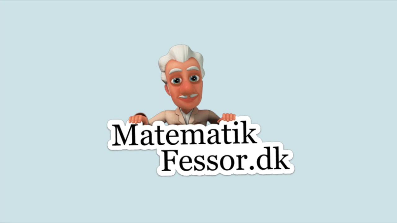 MatematikFessor - Lektie - SuperTræneren