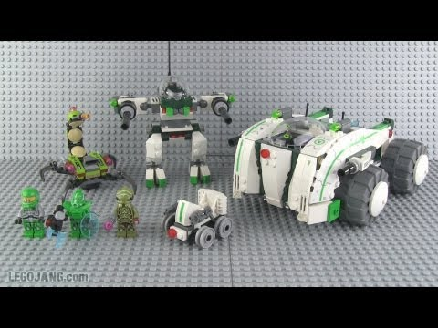 LEGO Galaxy Squad Vermin Vaporizer 70704 parts & review!