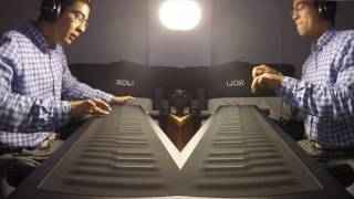 "Gambar cover ""Cycles"" by David Rodgers feat. ROLI Seaboard"