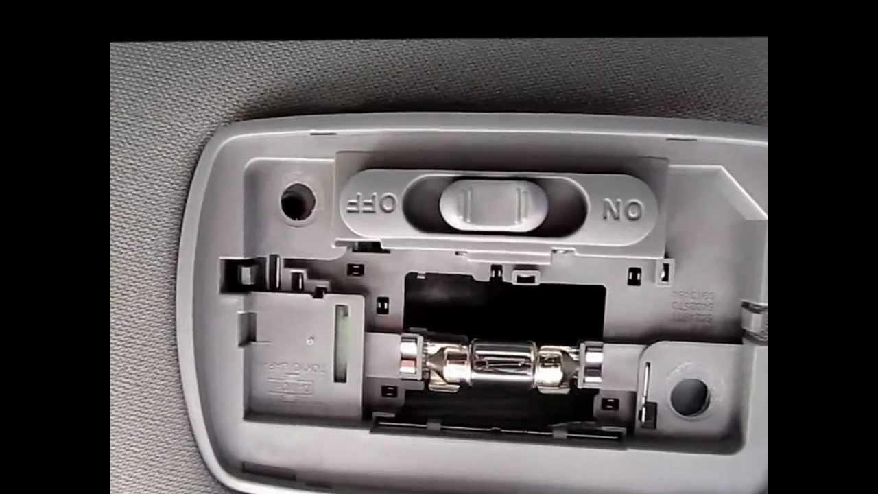 How To Replace Dome Light Switch In An Acura And Honda Youtube