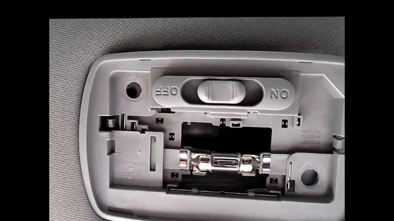 2003 Honda Accord Interior Lights Not Working