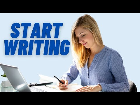 Creative Writing Lessons: Lesson 1 - Five top tips to get started (creative writing)