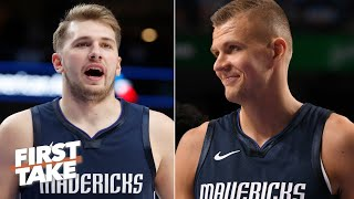 Kristaps Porzingis and Luka Doncic could be the best duo in basketball - Max Kellerman | First Take