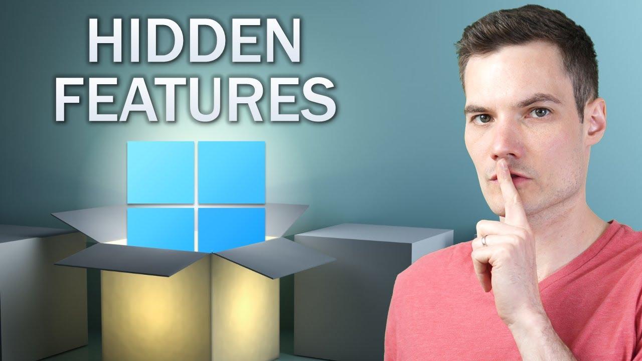 🥇 20 BEST Hidden Features in Windows