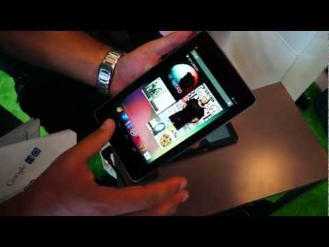 Hands On: Nexus 7 tablet (Google I/O 2012)
