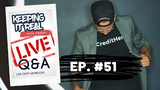 KEEPING IT REAL WITH CREDIT LIVE! Q & A (NEW OFFICE STUDIO UPDATE)