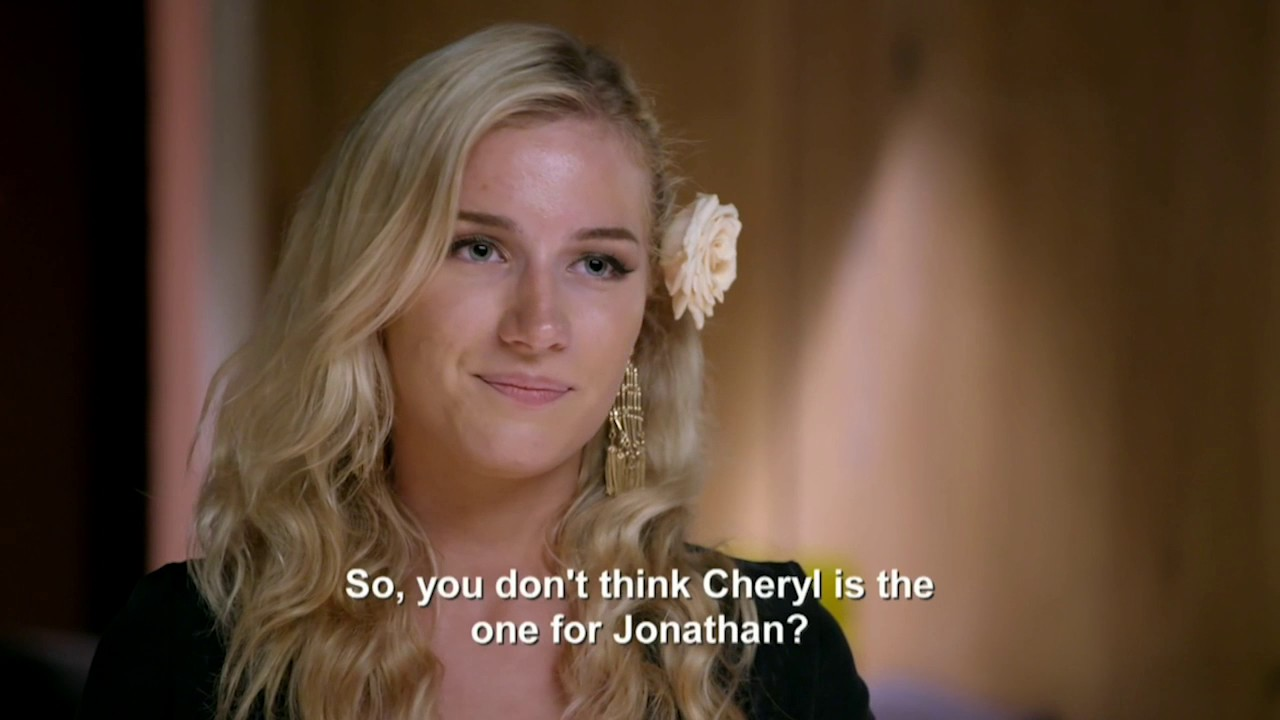 Jonathan Wedding Guest Slams Cheryl Married Sight Australia 2017 Season