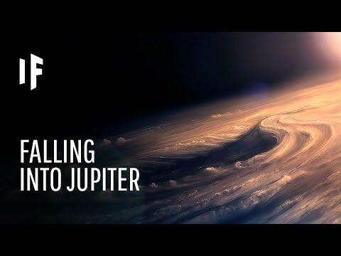 What If You Fell Into Jupiter?
