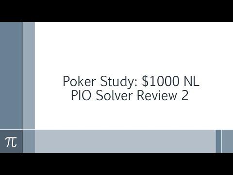 $1000 NL PIO Review #2