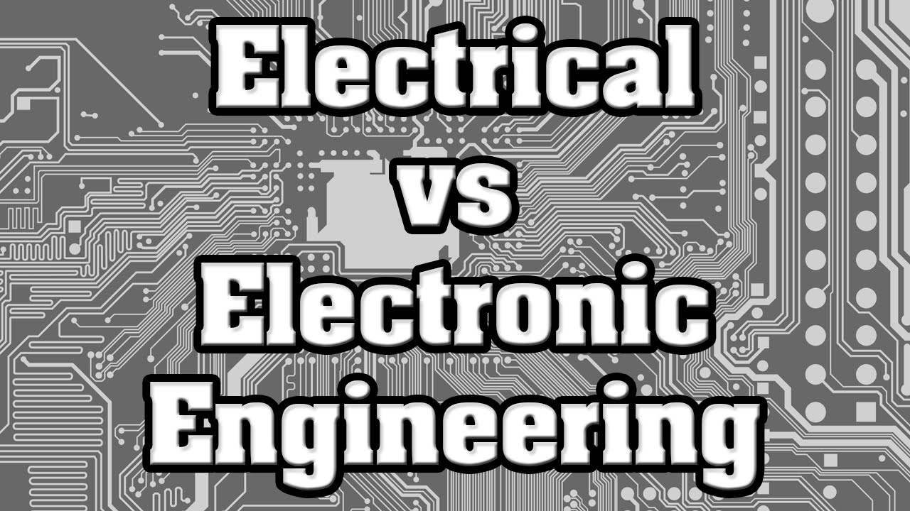 Image Result For Electronic Vs Electrical Engineering