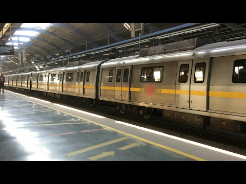 World class Delhi metro