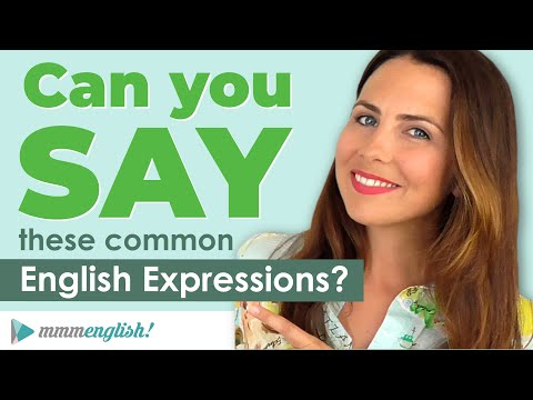 How To Say Common English Expressions! ?? PART 2: Small Talk