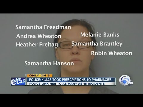 Woman uses fake names to get pain meds from hospitals