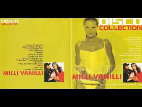 Milli Vanilli - Disco Collection