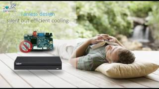 Dahua Technology Einstein NVR/LESS IS MORE/LESS EXPENSE MORE SURPRISE