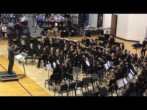 Desoto Central Middle School 8th Grade Band - Marche Diabolique