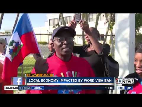 Trump administration bars Haitians from temporary work visas