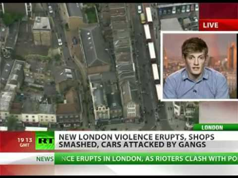 Riots Rage Anarchy in UK as London turns into war zone
