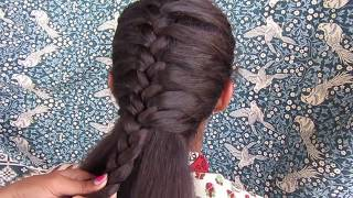 Simple & Beautiful French Braid Hairstyle || French Braid