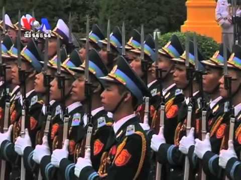 King Sihamoni on State Visit to Vietnam (Cambodia news in Khmer)