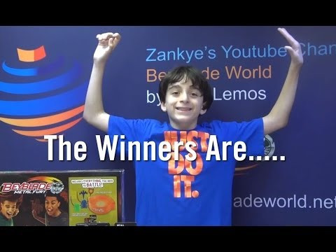 Beyblade February 9th Giveaways + 55,000 Subscribers Giveaway The Winners Are...