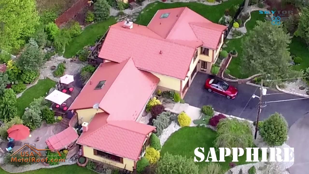 Metal Roof Terra Cotta Sapphire - YouTube