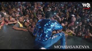 Diamond Platnumz -  Performing live at Mombasa  Part 4 (wasafi festival 2018)