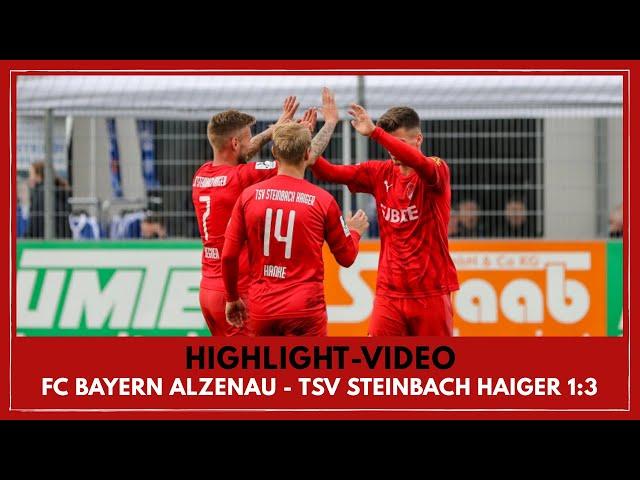 FC Bayern Alzenau - TSV Steinbach Haiger 1:3 (Regionalliga Südwest I #FCBTSV )