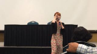 Ruth Connell Panel Part 2 Omnicon 2016